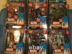 Marvel Legends ToyBiz BAF Complete Set APOCALYPSE Variant lot