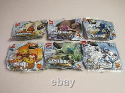 McDonalds 2001 Lego Bionicle Complete Set of 6 Mint in Package
