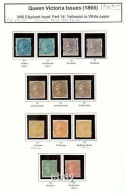Momen India Sg #54-65 1865 Complete Set Mint Og H £7,100 Lot #61340