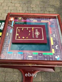 Monopoly The Collectors Edition (1991) by Franklin Mint Complete Set