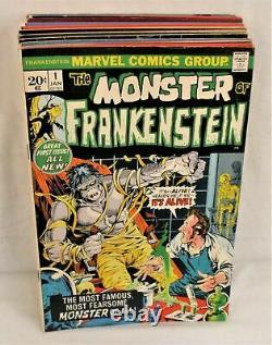 Monster of Frankenstein #1-18 Complete Set Comic Lot Full Run Marvel Mike Ploog