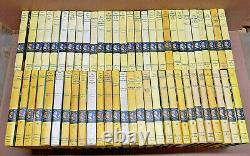 Nancy Drew by Carolyn Keene Complete Set Yellow Matte Lot of 56 Hardcover Books