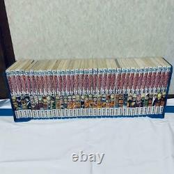 Naruto Vol. 1-72 Manga Complete Lot Full Set Japanese
