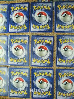Near Complete 19 Card Holofoil Base Set 2 lotBlastoise PokemonHolo Swirls
