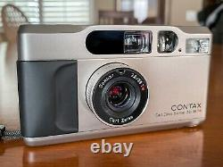 Near Mint Contax T2 complete matching set fully working- samples