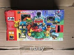 Nintendo 64 Pokemon Stadium Battle Set N64 System NEAR MINT Complete Rare