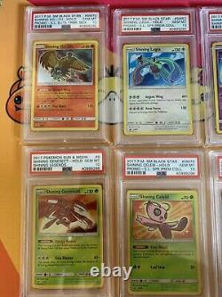 PSA 10 Pokemon Shining Legends Complete Shiny Set + Mewtwo Gem Mint