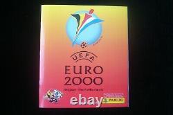 Panini Uefa Euro 2000 Complete Set Empty Album + Loose Set mint condition