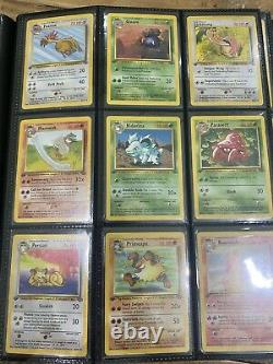Pokemon 1st Edition Jungle Complete Set WOTC Near mint/Mint