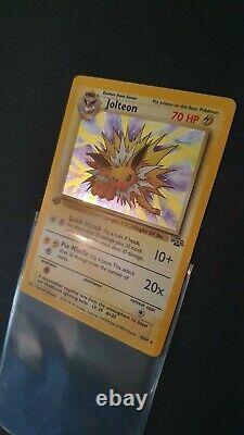 Pokemon 1st Edition Jungle Set Complete 100% 64/64 Very Rare ALL MINT
