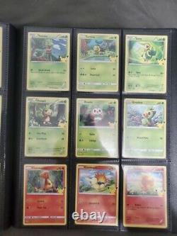 Pokemon 25th Anniversary McDonalds Complete Master Set 50 Cards Mint (UK)