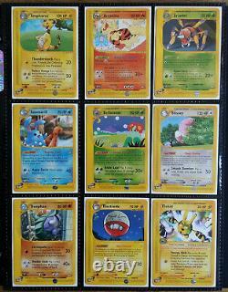 Pokemon Aquapolis Set All Rares Uncommon Common Complete 147/147 Near-Mint +