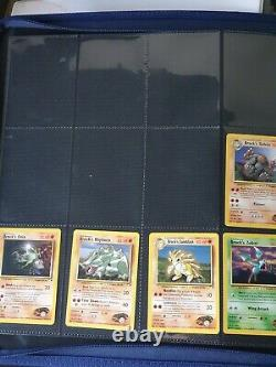 Pokemon Card Gym Heroes Complete Non Holo Set #20 132 Near Mint+