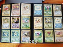 Pokemon Cards 1999 Part Complete Holo & Rare Jungle Set WOTC Bundle Job Lot