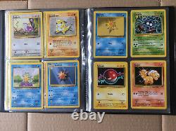 Pokemon Cards Complete Base Set 102/102 WOTC 1999 Near Mint Charizard