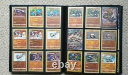 Pokemon Chilling Reign master set complete up to 177 Mint in folder