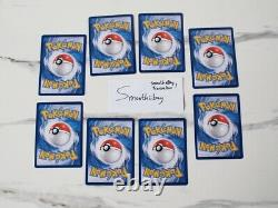 Pokemon KFC Limited Ed. Promo Complete 8 Cards Set Indonesia Exclusive NM-MINT