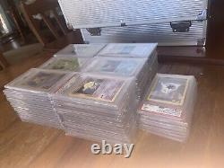 Pokemon PSA 9 Complete Shadowless Base Set 102/102 charizard mint