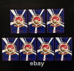 Pokemon TEAM ROCKET Set COMPLETE Uncommon Common Non Holo Cards Lot JAPANESE NM