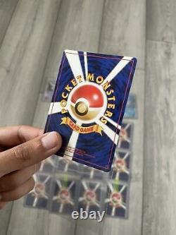 Pokemon Team Rocket Complete Holo Set Japanese + PSA Charizard MINT CONDITION