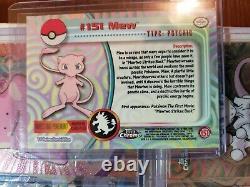 Pokemon Topps Chrome Base Series 1 & 2 Complete 151 Set NM/Mint Condition