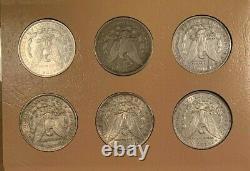 Premier 32 Coin COMPLETE 1878-1921 Morgan Silver Dollar Date/Mint Set, Hi Grade