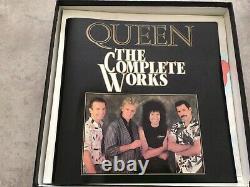 QUEEN The Complete Works UK EMI RECORDS 14 VINYL LP BOX SET MINT