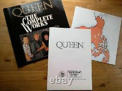 Queen The Complete Works Near Mint 14 x Vinyl Record Box Set QB1 Booklet +Extras