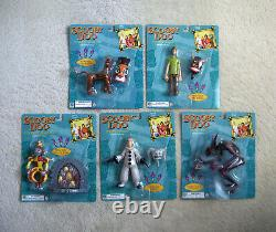 SCOOBY-DOO (2002) Movie Figures COMPLETE SET! MINT! HARD TO FIND! Equity Toys