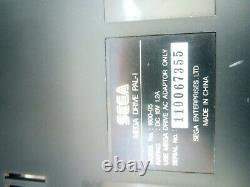 SEGA MEGADRIVE MK1 BOXED CONSOLE LOT SONIC SET 100% Complete Excellent Cond