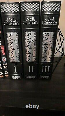 Sandman Complete Omnibus Lot Set Vol 1 2 3 1-3 Vertigo DC Neil Gaiman