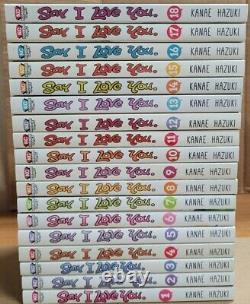 Say I Love You Vol. 1-18 Manga Complete set English graphic novel brand new lot