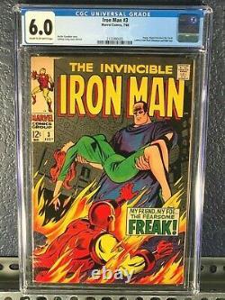 Silver-Age IRON MAN 1 2 3 4 5 6 7 8 9 10 CGC Lot Set Complete Run 1968 1-10 1st