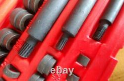 Snap On Tools Complete Standard Bushing Driver Set A157B Mint