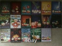 South Park Complete series 1-17 set seasons 6 7 8 9 10 11 12 13 14 15 16 17 lot