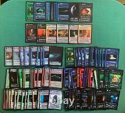 Star Wars CCG Near Complete (99/114) Reflections 1 I Foil Set 99 Card Lot