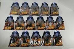 Star Wars Hasbro Revenge of the Sith ROTS 2005 Lot of 80 Complete Set 3.75 Scale