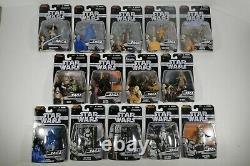 Star Wars Hasbro The Saga Collection TSC 2006 Complete Set Lot of 76 Figures