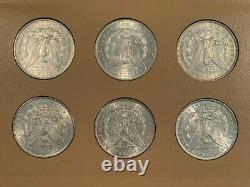 Superb 32 Coin COMPLETE 1878-1921 Morgan Silver Dollar Date/Mint Set, Hi Grade