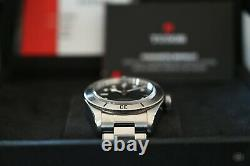 Tudor Black Bay 79730 Black Dial 41mm with Box Papers Complete Set New Mint