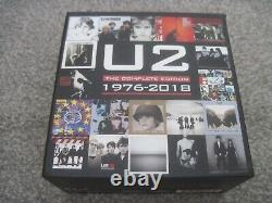 U2 The Complete Edition 1976-2018 19 x CD BOX SET & POSTER mint