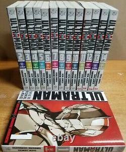 Ultraman Vol. 1 14 English Manga Graphic Novels Lot NEW Complete set