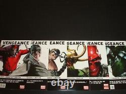Vengeance 1-6 Complete Comic Lot Run Set Marvel 1st America Chavez Collection