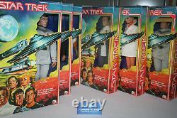 Vintage Mego TMP Star Trek 12 inch lot with boxes complete set all original