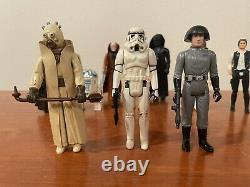 Vintage Star Wars First 12 Set 1977 A New Hope Lot, All Complete, No Repro